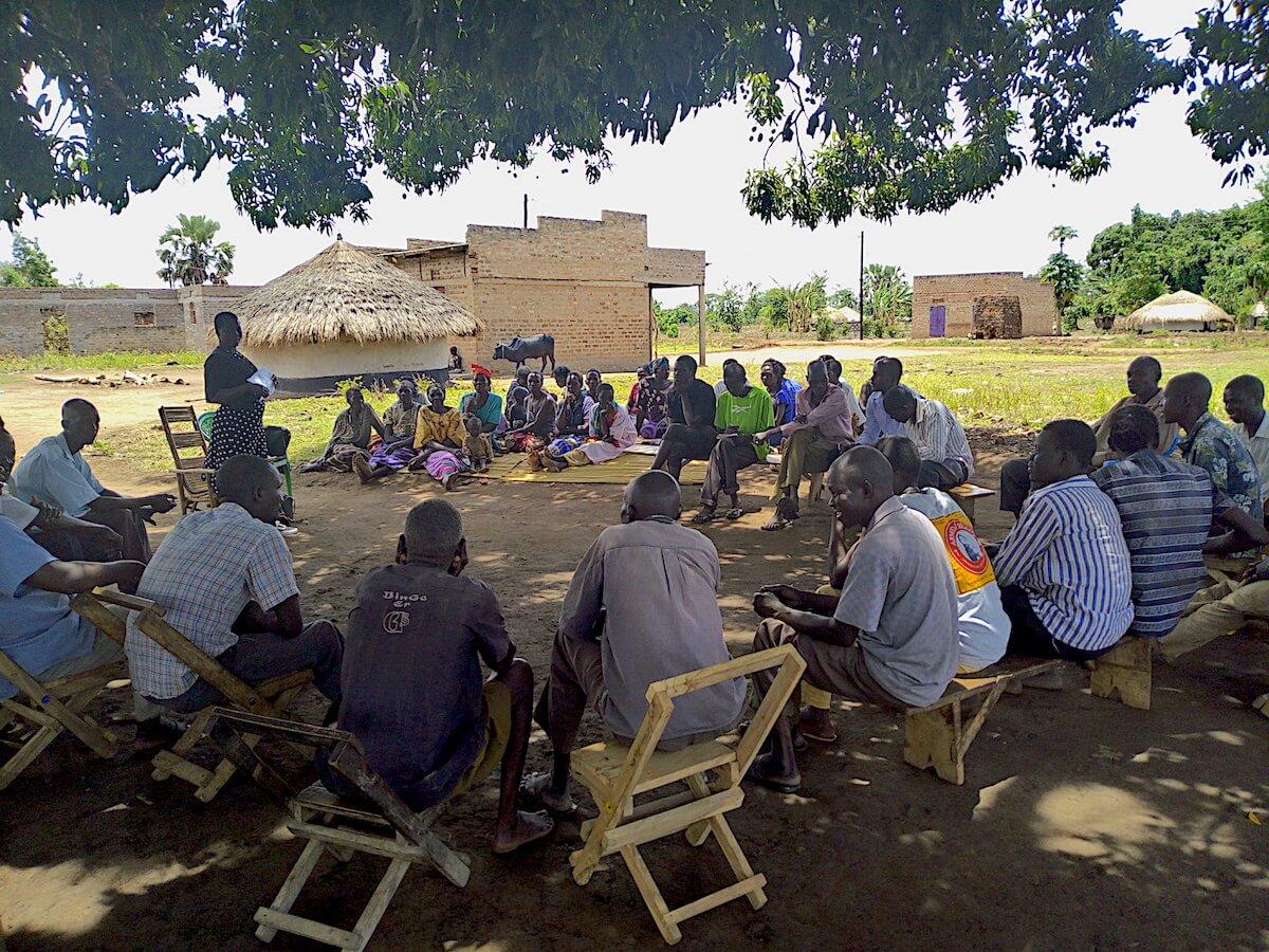 LTP Uganda_Community sensitisation meeting