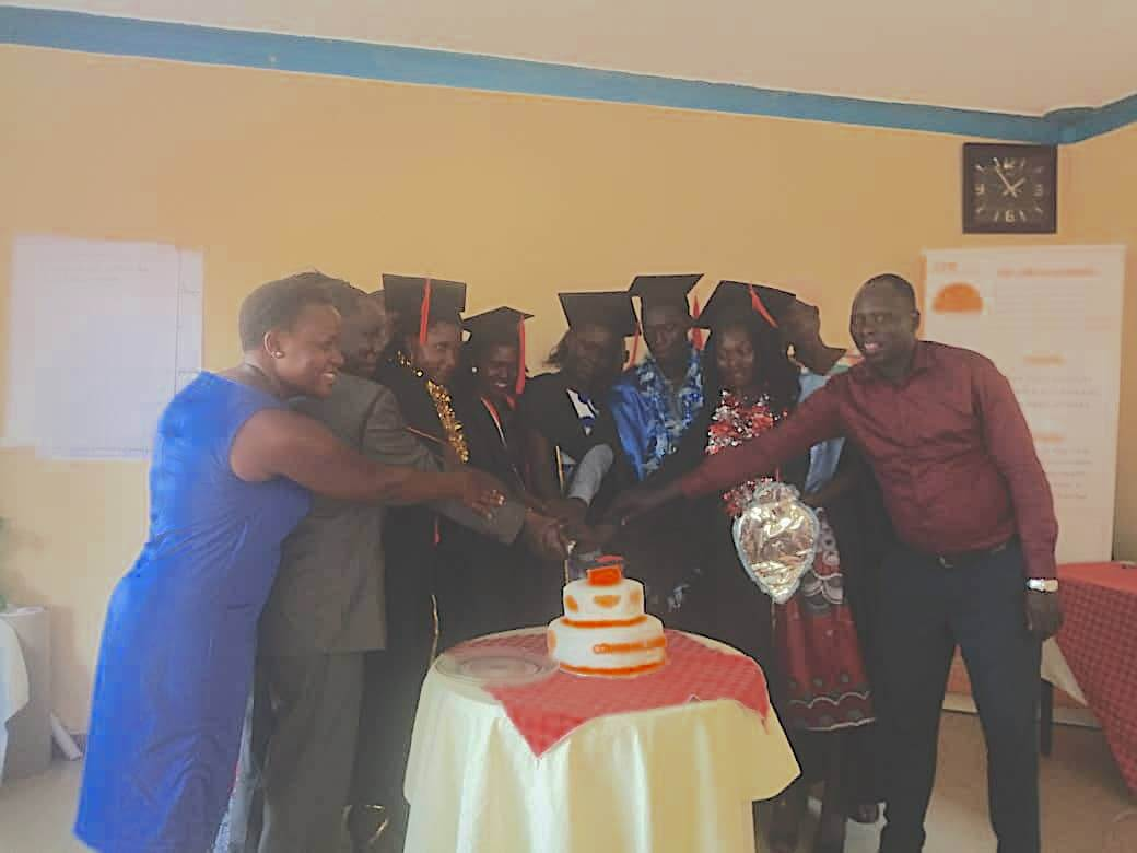 The joy of the unprevilaged. in January 2020 6 students who benefited from LTP scholaship project graduated from different universities in Uganda.