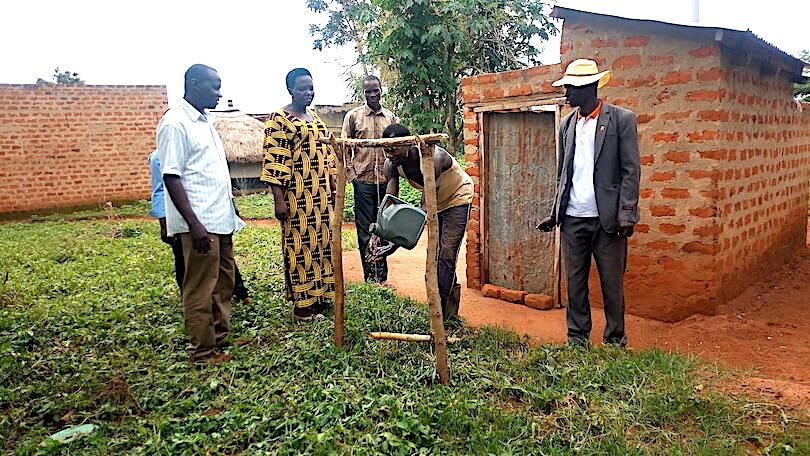 Link to Progress | Hand washing and latrine use